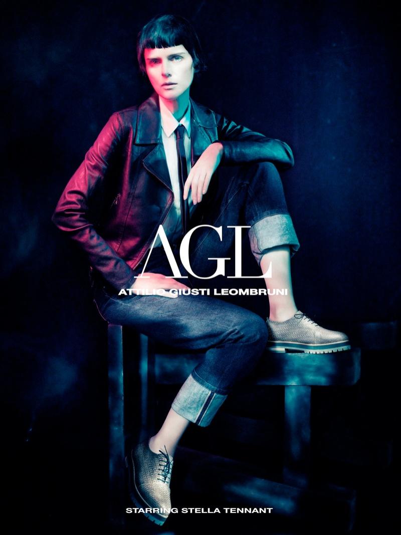agl fall ads3 Stella Tennant Fronts Attilio Giusti Leombruni Fall 2013 Campaign by Paolo Roversi