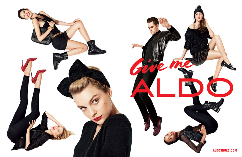 aldo fall advertising1 Aldo Taps Lily Donaldson, Jourdan Dunn, Jessica Stam and More for Fall 2013 Ads