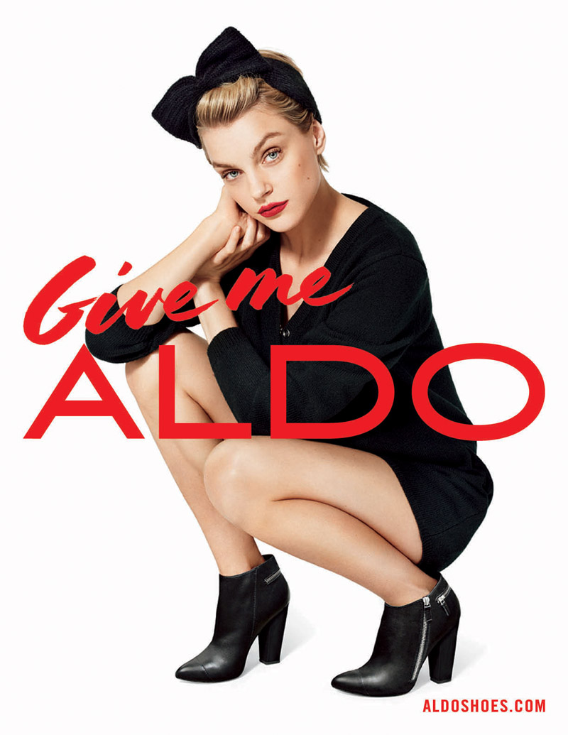 aldo fall advertising4 Aldo Taps Lily Donaldson, Jourdan Dunn, Jessica Stam and More for Fall 2013 Ads
