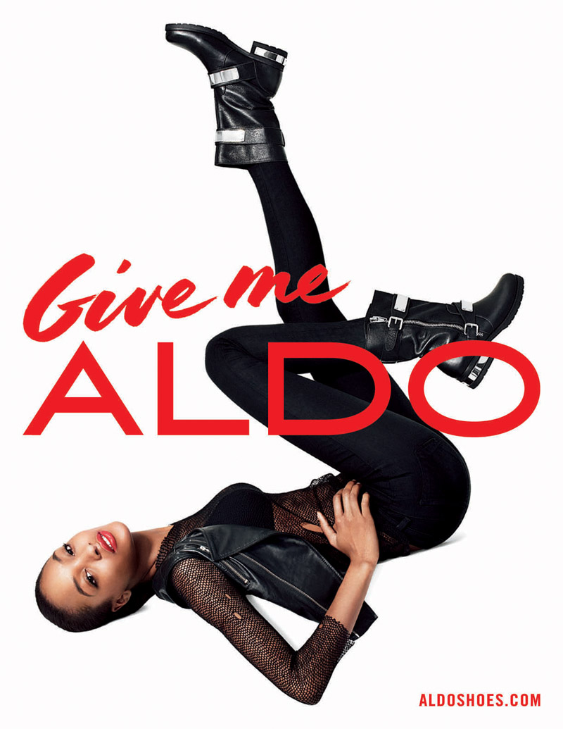 aldo fall advertising5 Aldo Taps Lily Donaldson, Jourdan Dunn, Jessica Stam and More for Fall 2013 Ads