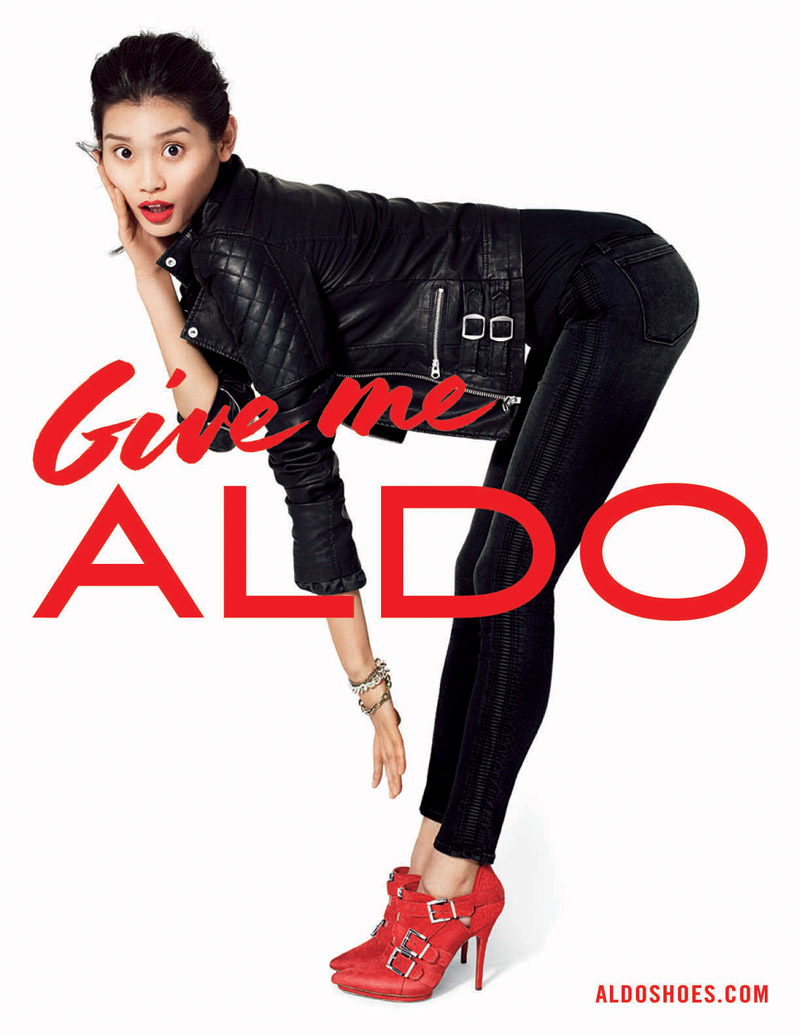 aldo fall advertising8 Aldo Taps Lily Donaldson, Jourdan Dunn, Jessica Stam and More for Fall 2013 Ads