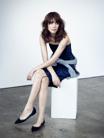 Alexa Chung Sits for mytheresa.com Shoot