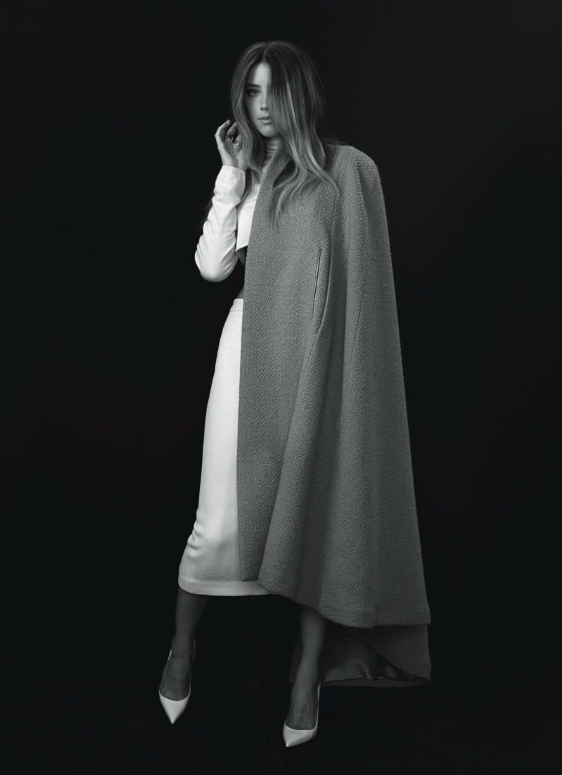 Amber Heard Graces Flare's September 2013 Issue