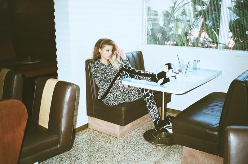Amber Heard Gets Wild for Bullett Magazine's Summer Issue