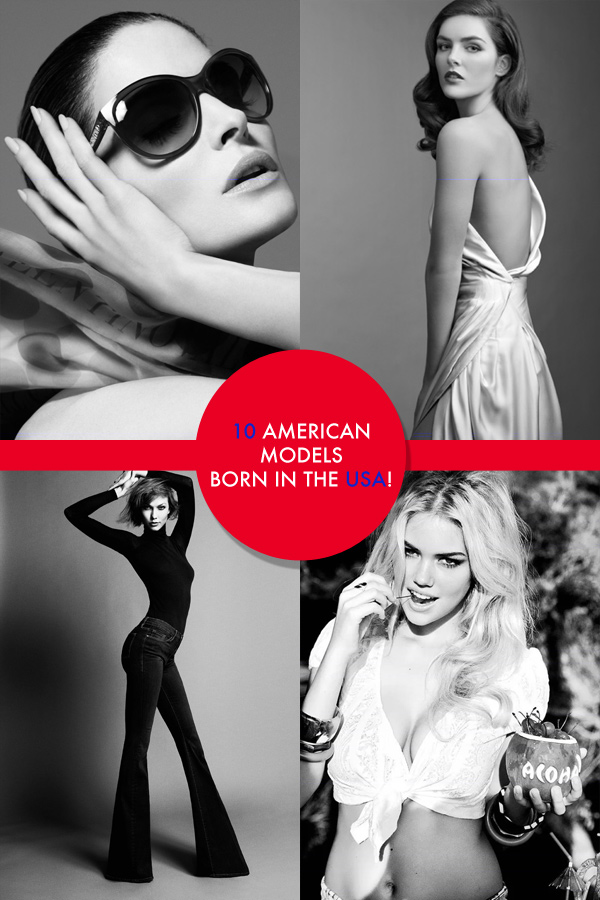 american models open From Christy to Karlie: 10 American Models for July 4th