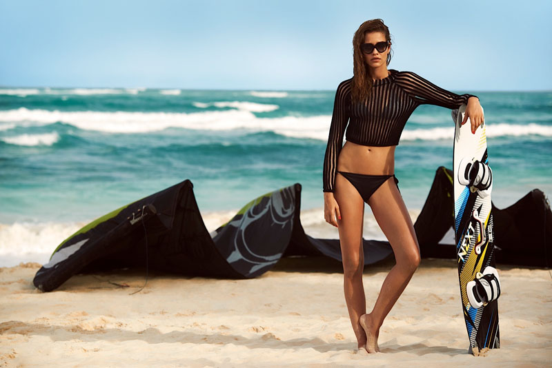 ana beatriz barros7 Ana Beatriz Barros Poses for Alexander Neumann in Harpers Bazaar Latin America July 2013
