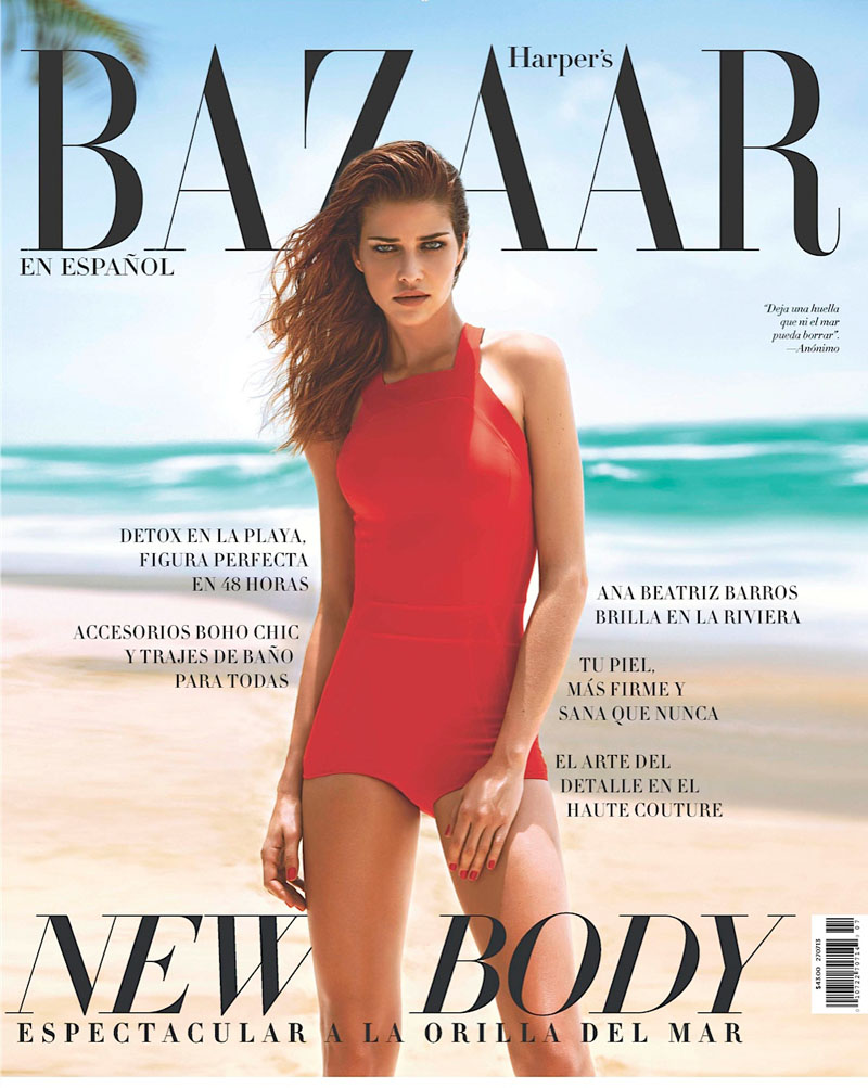 ana beatriz barros9 Ana Beatriz Barros Poses for Alexander Neumann in Harpers Bazaar Latin America July 2013