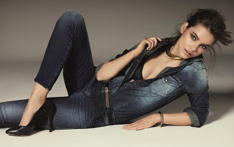 barbara palvin gas jeans0 Barbara Palvin Gets Casual for Gas Jeans Fall 2013 Campaign