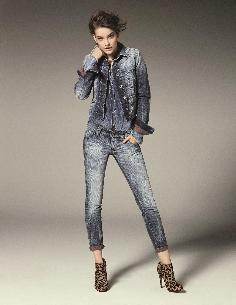 barbara palvin gas jeans3 Barbara Palvin Gets Casual for Gas Jeans Fall 2013 Campaign