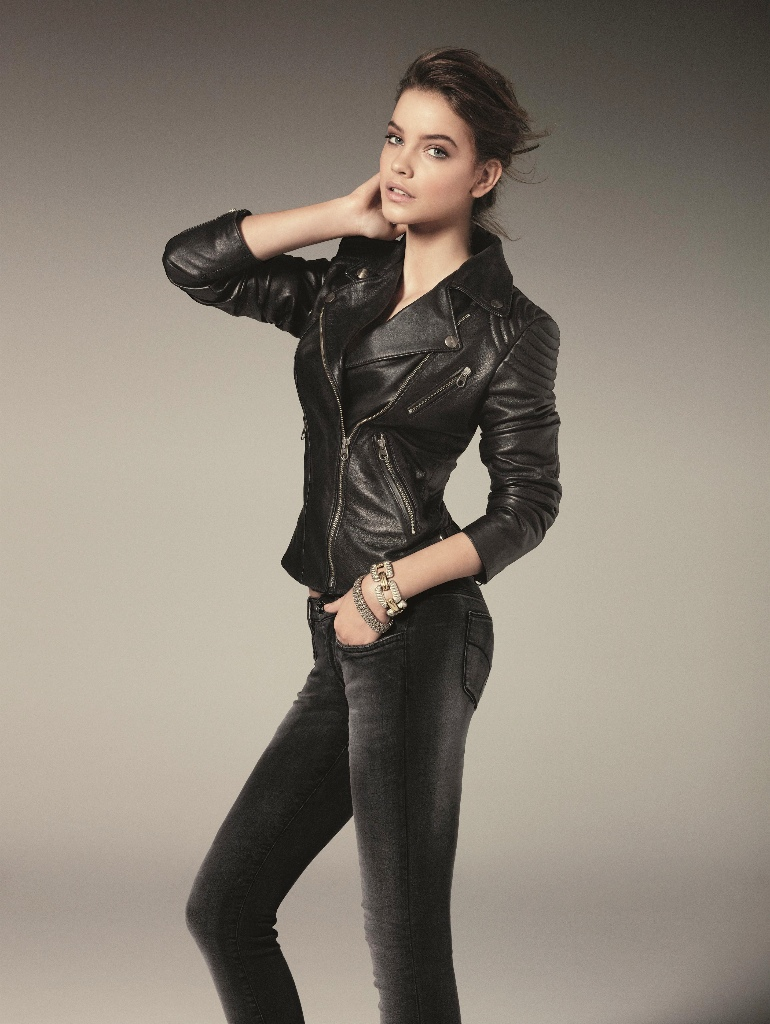 barbara palvin gas jeans7 Barbara Palvin Gets Casual for Gas Jeans Fall 2013 Campaign