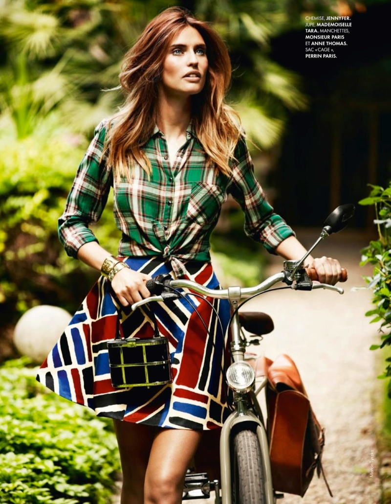 bianca balti model13 Bianca Balti Shines in the July Cover Shoot of Elle France