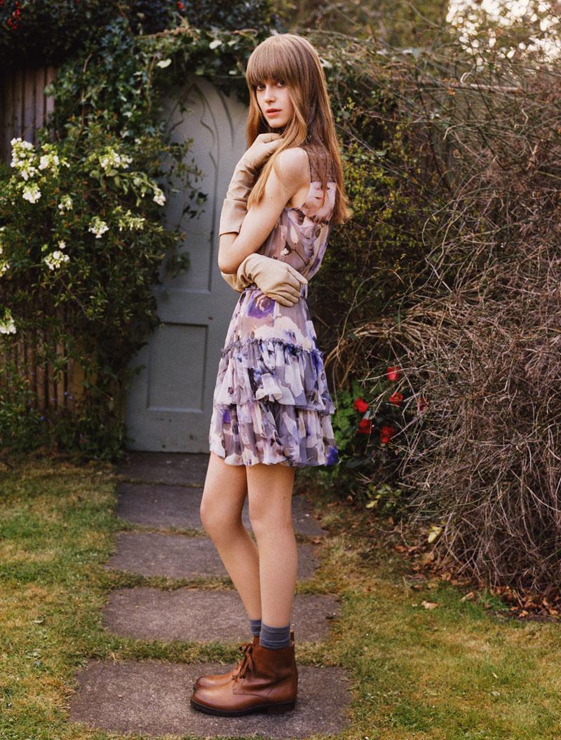 Jemma Baines Enchants in Blugirl Fall 2013 Campaign