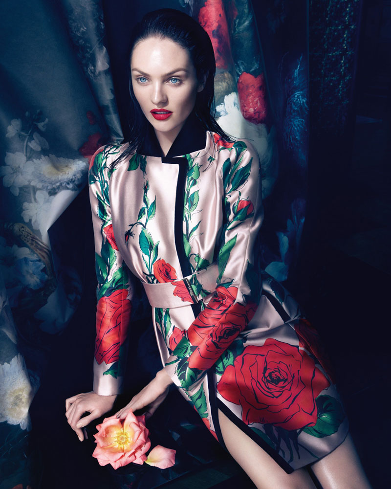 See Blumarine's Complete Fall 2013 Campaign Starring Candice Swanepoel