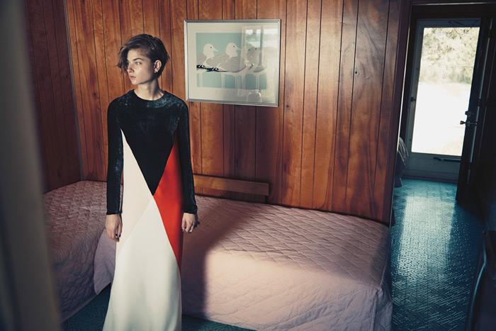 Bo Don Models Stella McCartney for Hans Neumann in Harper's Bazaar Latin America