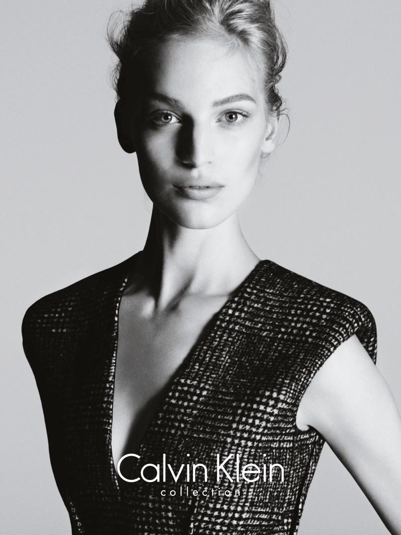 calvin klein fall ads1 Vanessa Axente Stars in Calvin Kleins Fall 2013 Campaign by Mert & Marcus