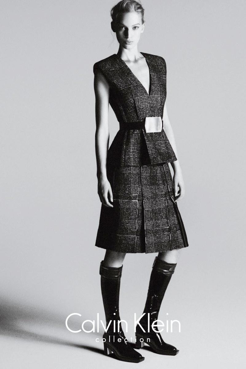 calvin klein fall ads3 Vanessa Axente Stars in Calvin Kleins Fall 2013 Campaign by Mert & Marcus