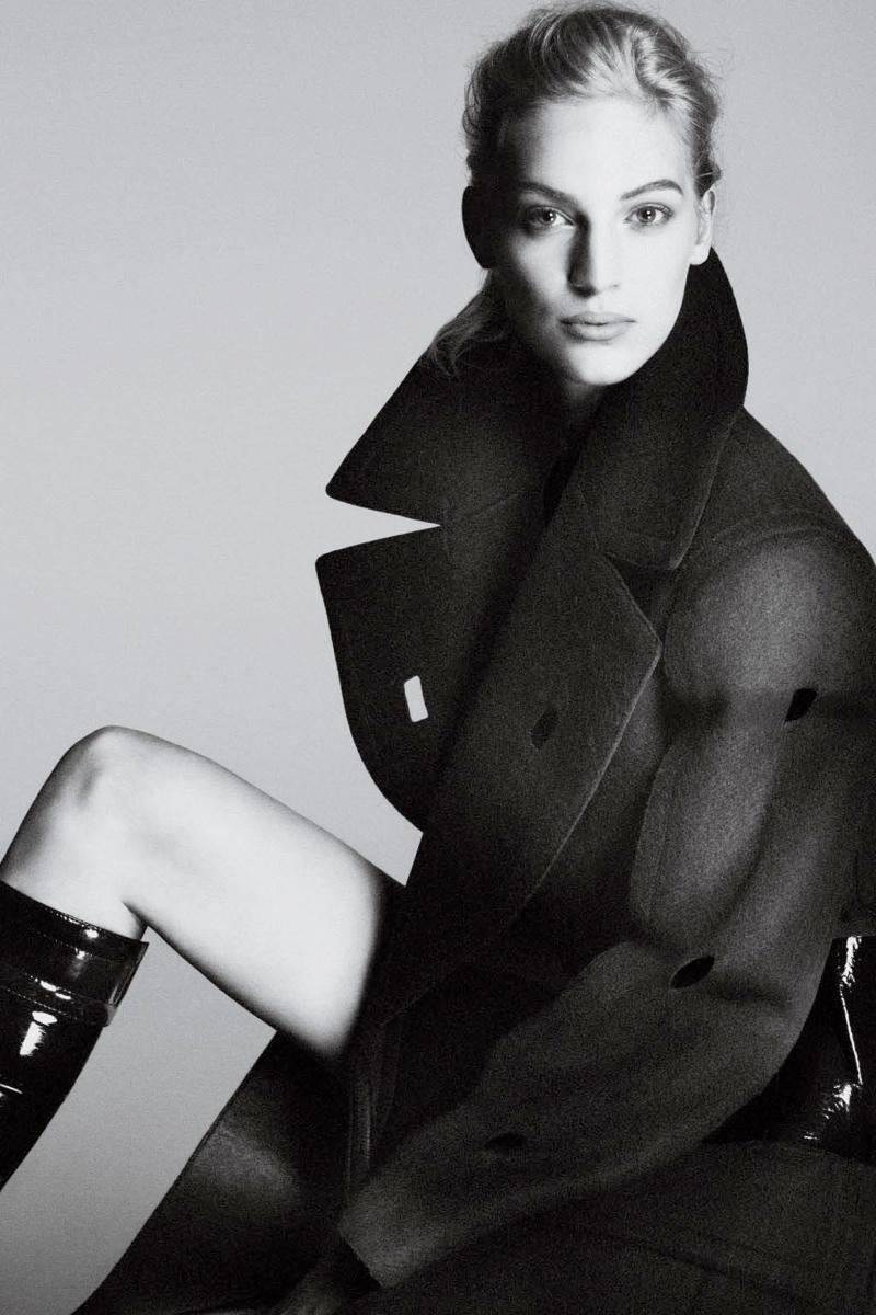 calvin klein fall ads4 Vanessa Axente Stars in Calvin Kleins Fall 2013 Campaign by Mert & Marcus