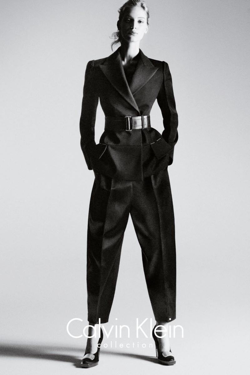 calvin klein fall ads5 Vanessa Axente Stars in Calvin Kleins Fall 2013 Campaign by Mert & Marcus