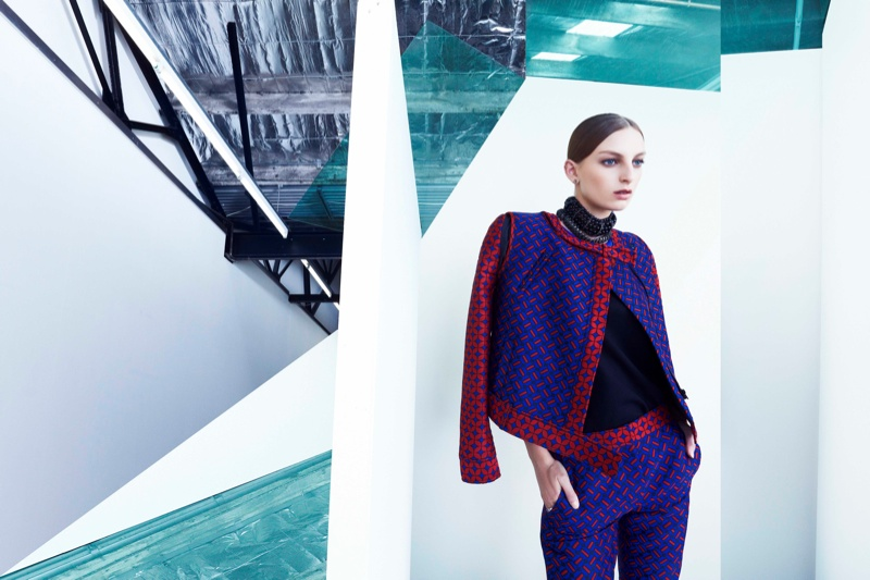 camilla marc ss campaign4 Rose Smith Stars in Camilla and Marc Spring/Summer 2013 Campaign