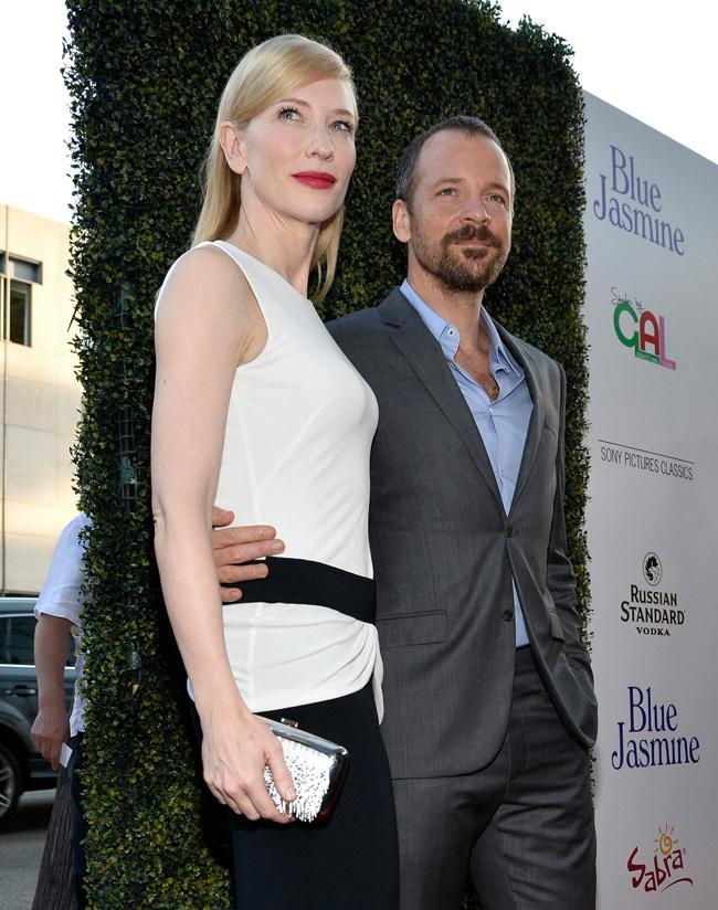 cate blanchett mcqueen1 Cate Blanchett Wears Alexander McQueen to the Blue Jasmine Premiere