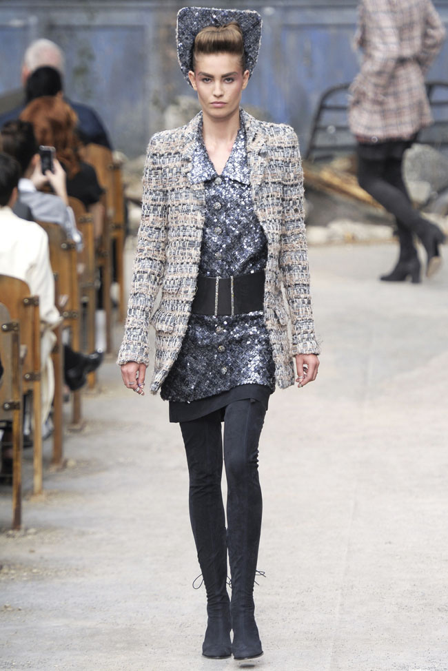 chanel haute couture fall 1 Chanel Haute Couture Fall 2013 Collection