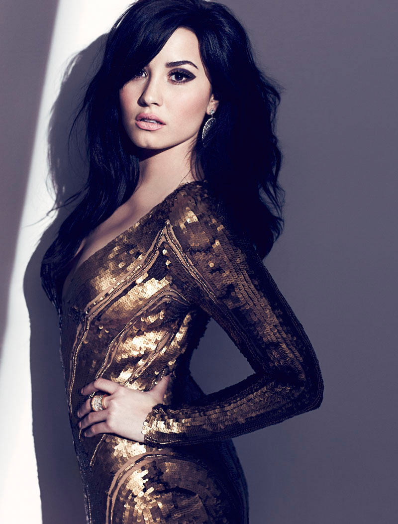 Demi Lovato Stars in Fashion Magazine's August Issue by Chris Nicholls