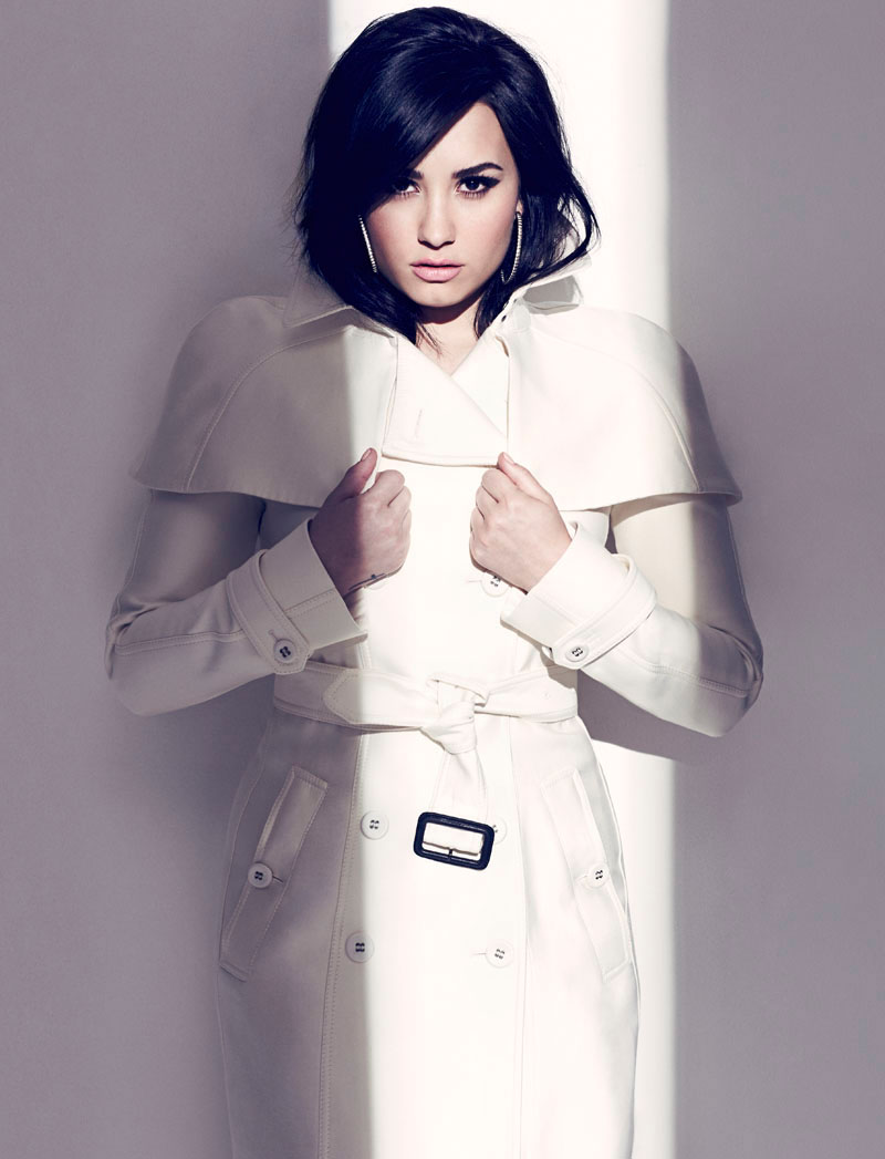 chris nicholls 2010 Demi Lovato Stars in Fashion Magazines August Issue by Chris Nicholls