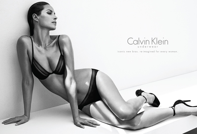 christy turlington calvin klein underwear1 See Christy Turlington Star in Calvin Klein Underwear Fall 2013 Ads