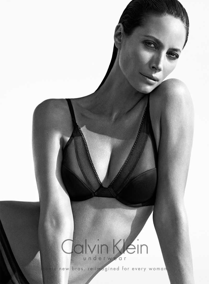 christy turlington calvin klein underwear3 See Christy Turlington Star in Calvin Klein Underwear Fall 2013 Ads
