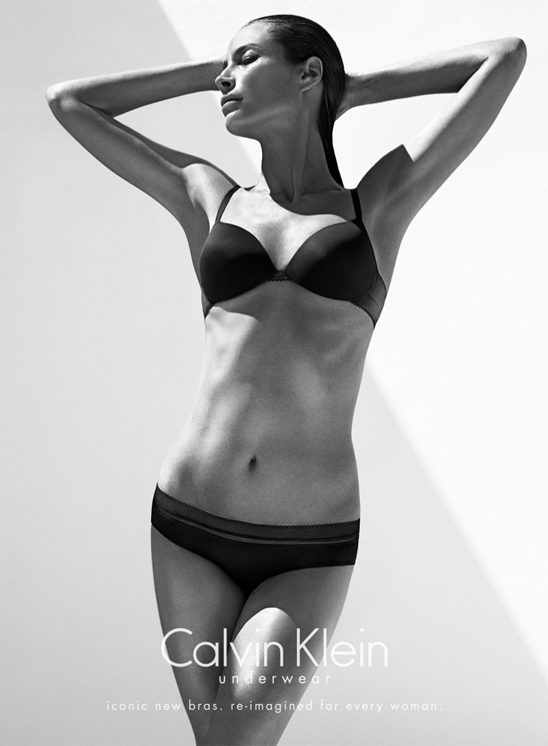 christy turlington calvin klein underwear4 See Christy Turlington Star in Calvin Klein Underwear Fall 2013 Ads