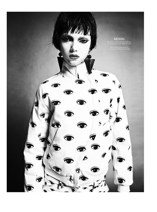 citizen k collections3 Jenna Earle Models Fall Fashions for Citizen K by Honer Akrawi