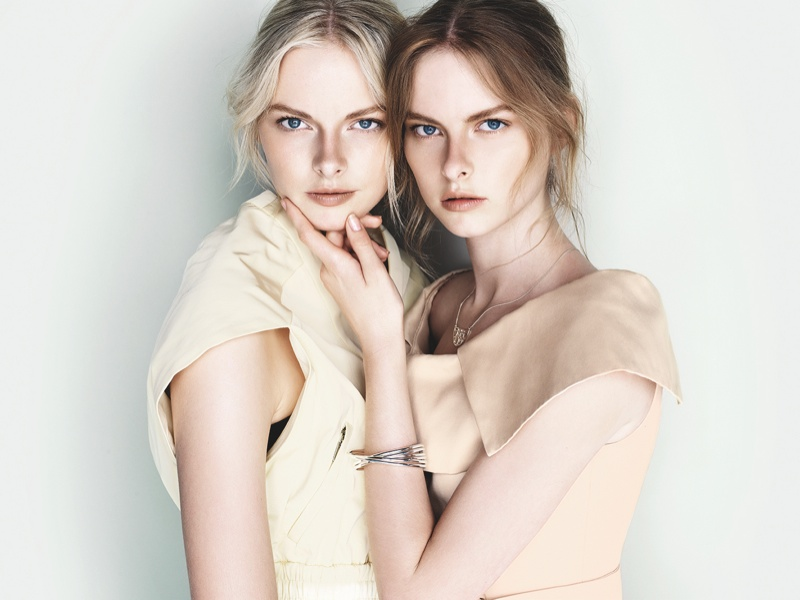 cue ss ads12 Exclusive: Sisters Elza and Vera Luijendijk Front Cue S/S 2013 Campaign