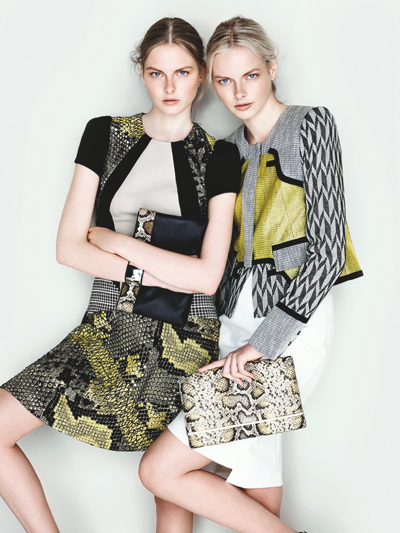 cue ss ads5 Exclusive: Sisters Elza and Vera Luijendijk Front Cue S/S 2013 Campaign