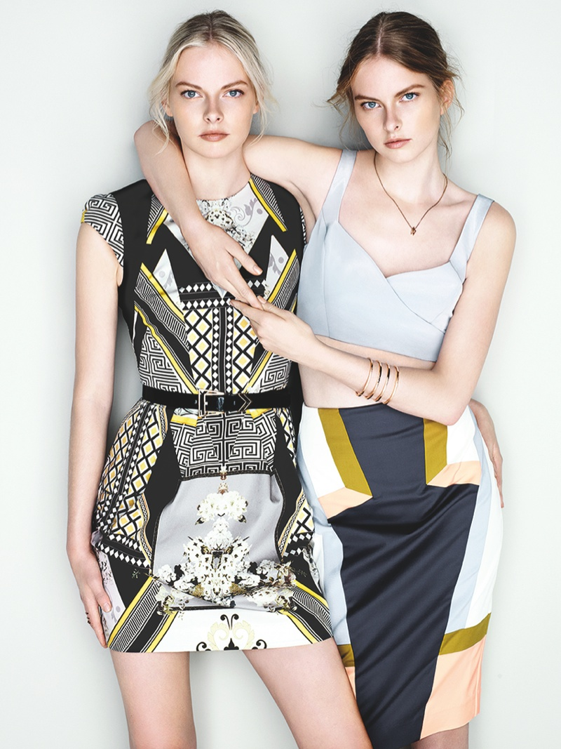 cue ss ads7 Exclusive: Sisters Elza and Vera Luijendijk Front Cue S/S 2013 Campaign