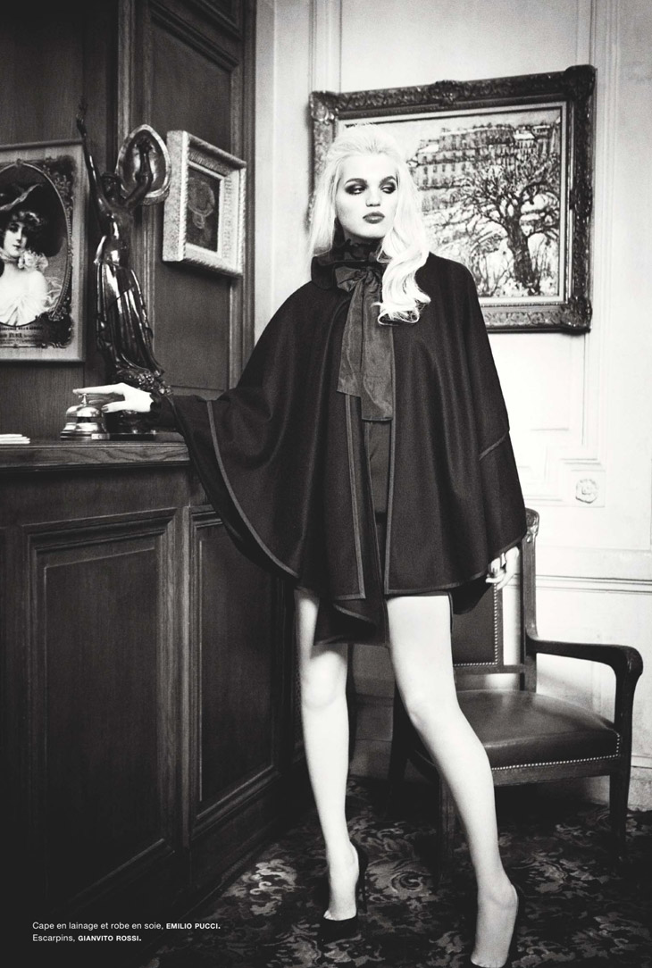 Daphne Groeneveld Poses for Ellen von Unwerth in Numéro #145