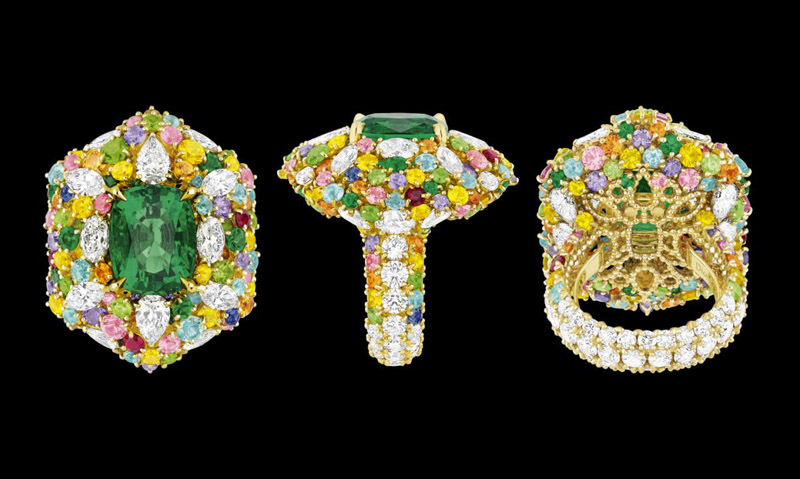 dior cher collection2 The Cher Dior High Jewelry Collection is Mad About Color