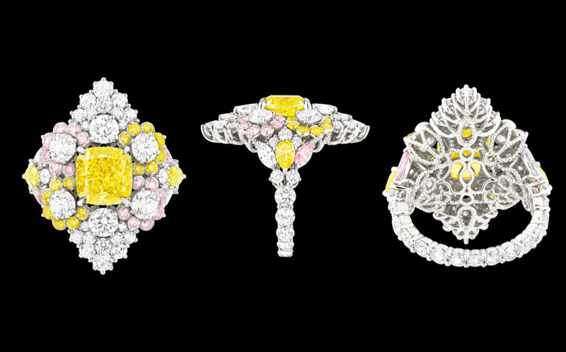 dior cher collection3 The Cher Dior High Jewelry Collection is Mad About Color