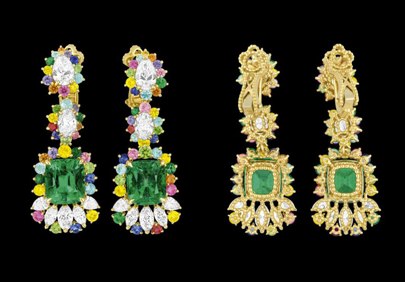 dior cher collection5 The Cher Dior High Jewelry Collection is Mad About Color