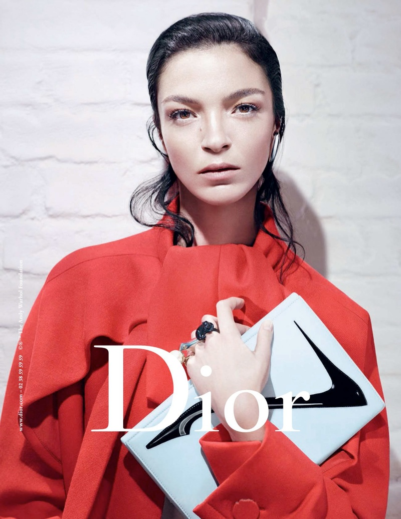 dior fw campaign1 Mariacarla Boscono and Elise Crombez Tapped for Dior Fall 2013 Campaign