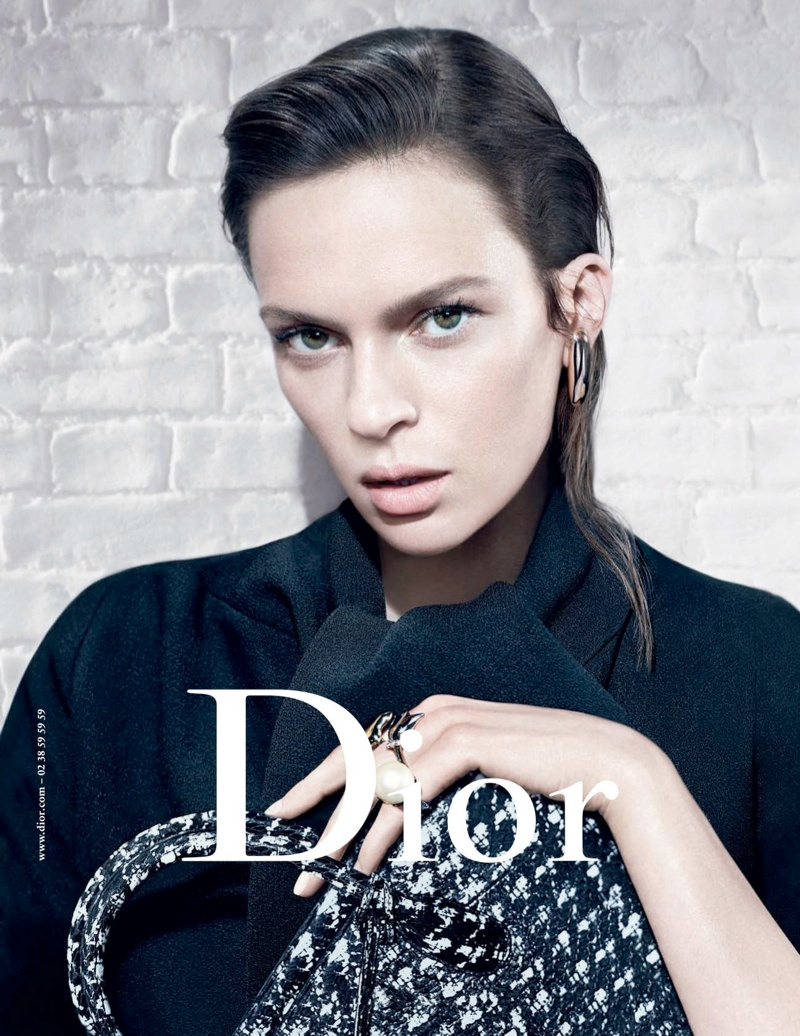 dior fw campaign3 Mariacarla Boscono and Elise Crombez Tapped for Dior Fall 2013 Campaign