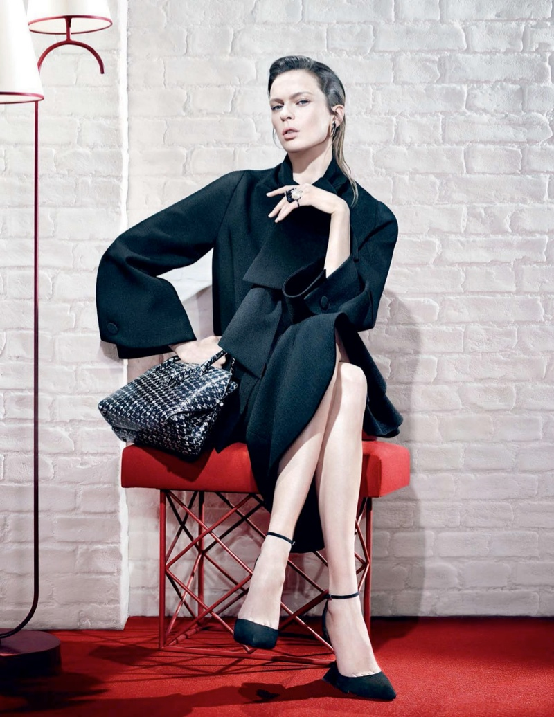 dior fw campaign4 Mariacarla Boscono and Elise Crombez Tapped for Dior Fall 2013 Campaign