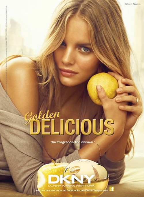 dkny delicious marloes2 Marloes Horst Shines in DKNY Be Delicious Fragrance Campaign