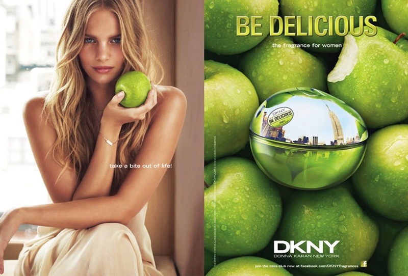 dkny delicious marloes3 Marloes Horst Shines in DKNY Be Delicious Fragrance Campaign