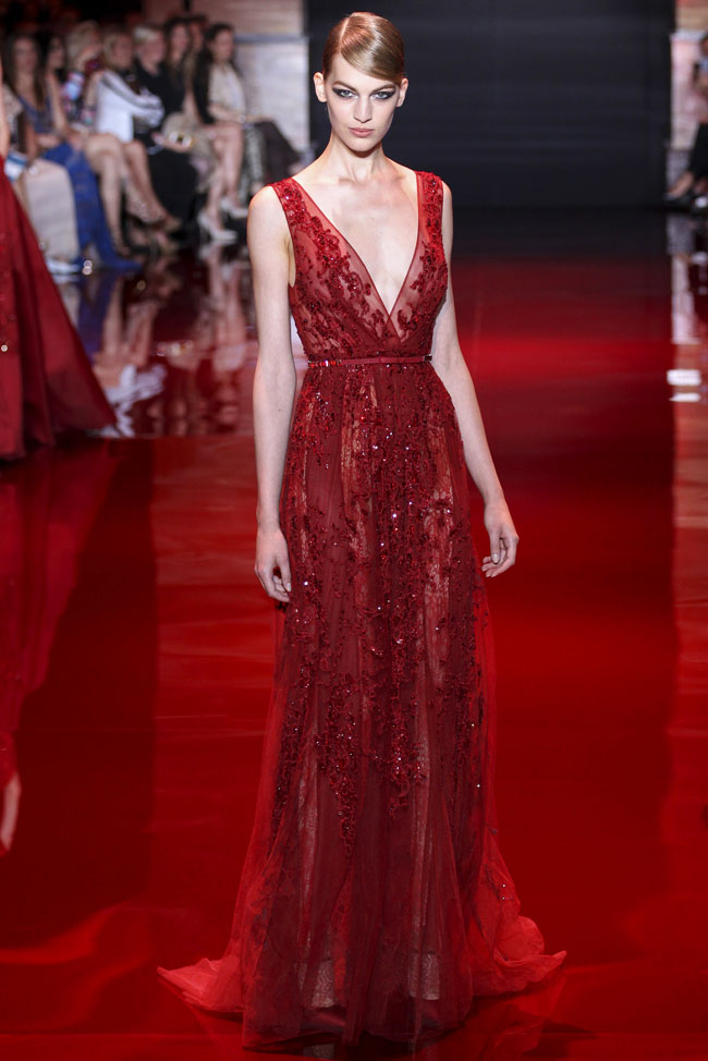 Elie saab fall 2013 haute couture collection for Haute couture list