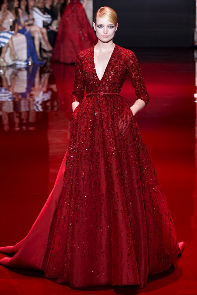 Elie saab fall 2013 haute couture collection for Hout couture