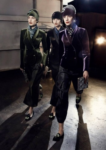 Emporio Armani Fall 2013 Campaign Taps Jacquelyn Jablonski, Ruby Aldridge and More