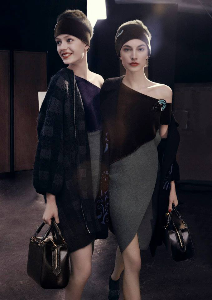 emporio armani fw ads7 Emporio Armani Fall 2013 Campaign Taps Jacquelyn Jablonski, Ruby Aldridge and More