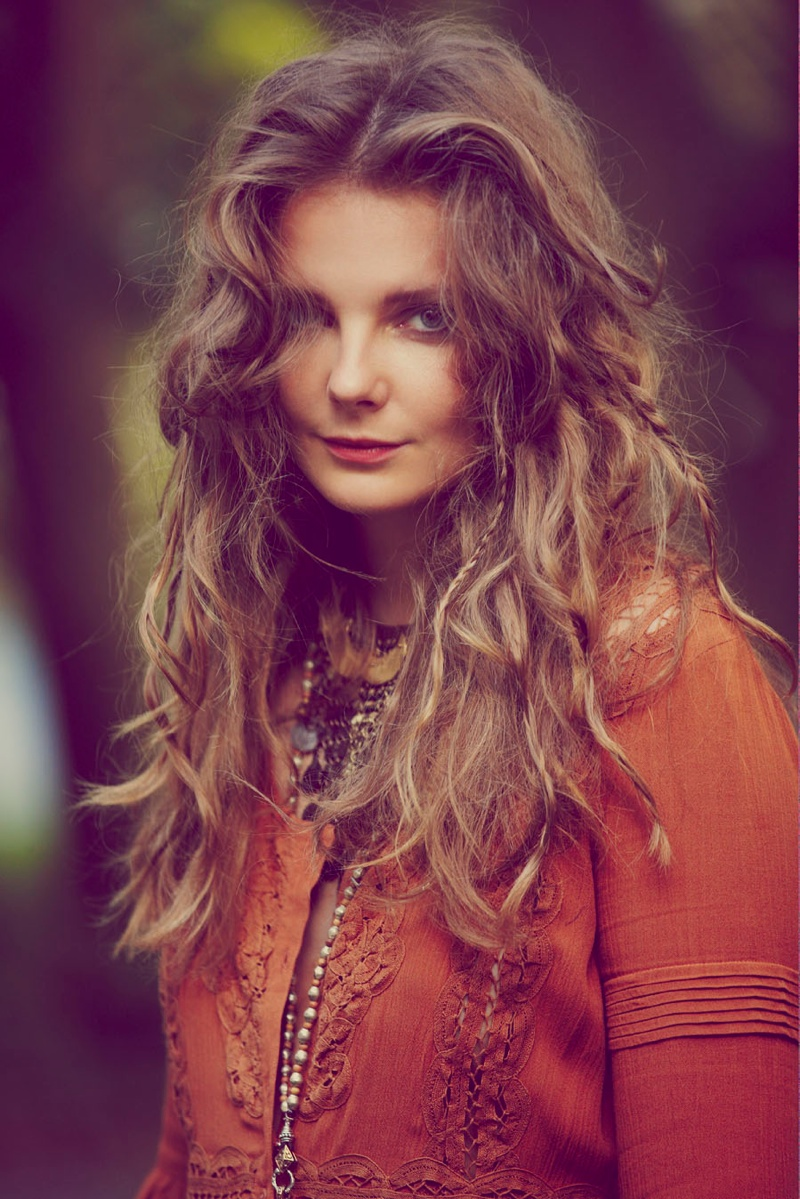 eniko mihalik free people1 Eniko Mihalik Fronts Free Peoples July Lookbook