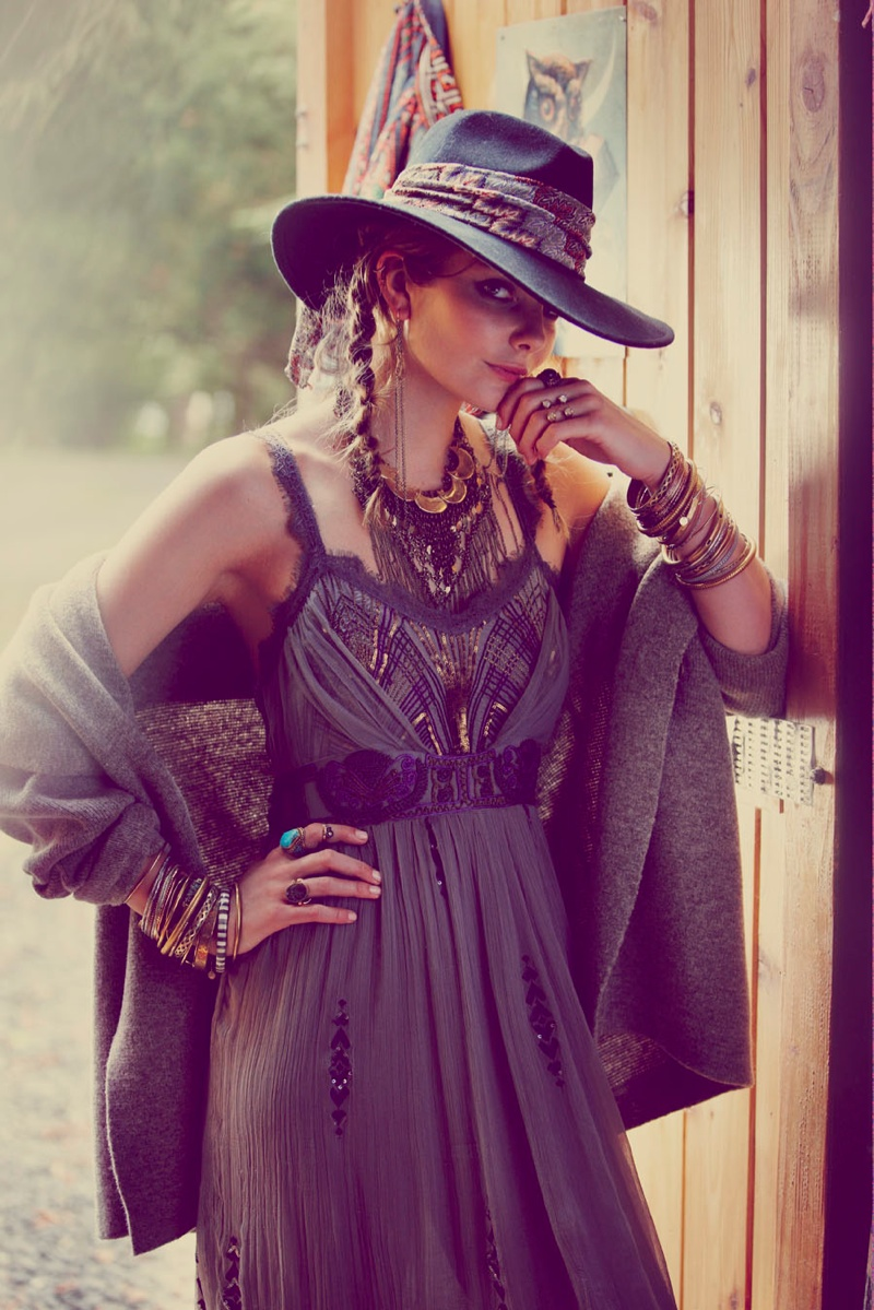 eniko mihalik free people3 Eniko Mihalik Fronts Free Peoples July Lookbook