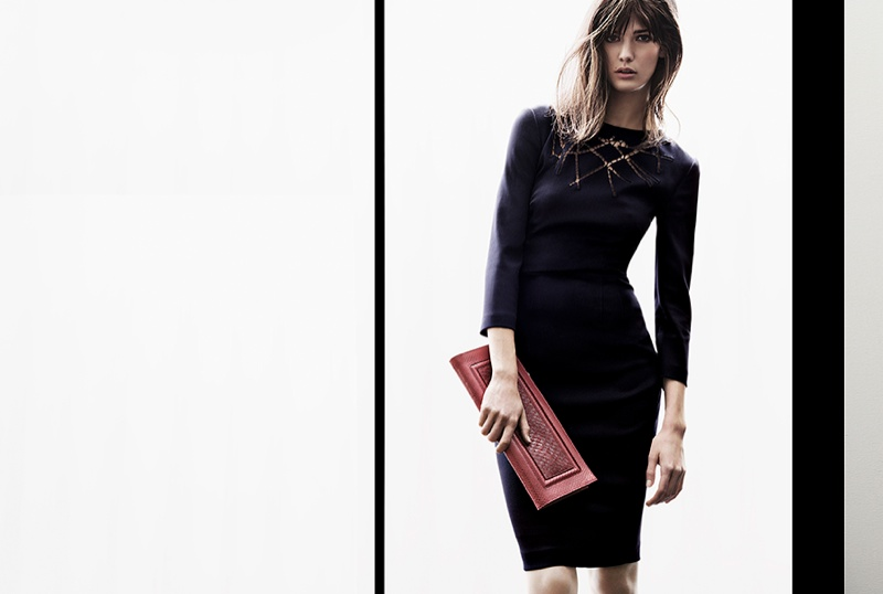 Kendra Spears Returns for Escada Fall 2013 Campaign by Knoepfel & Indlekofoer